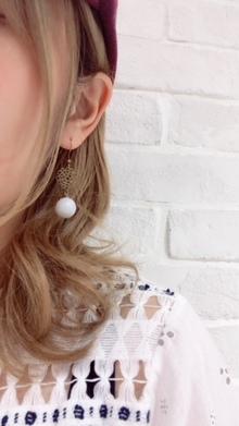 吉祥寺でおしゃれな美容室 Hair Salon Sorcier ERIのブログ「ハンドメイドピアス☆*。」