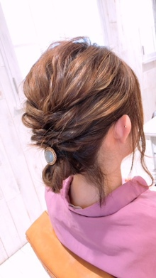 吉祥寺でヘアセットが可愛い美容室 Hair Salon Sorcier ERIのブログ 「フィッシュボーンアレンジ☆*。」