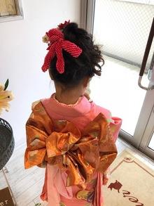 吉祥寺で着付けができる美容室 Hair Salon Sorcier ERIのブログ「親子で七五三☆*。」
