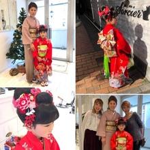 吉祥寺で着付けができる美容室 Hair Salon Sorcier ERIのブログ「七五三2018☆*。」
