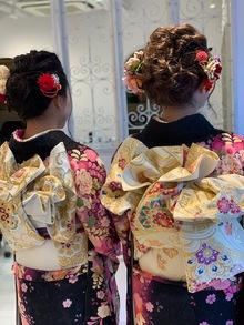 吉祥寺で着付けができる美容室 Hair Salon Sorcier ERIのブログ「成人の日2019☆*。」