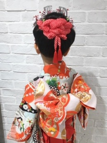 吉祥寺で着付けが出来る美容室 Hair Salon Sorcier ERIのブログ「2019年七五三☆Part2」