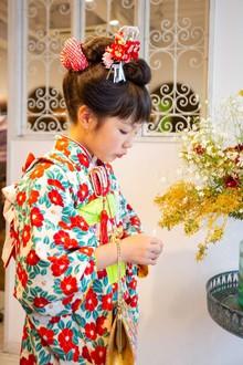 吉祥寺で着付けが上手な美容室Hair Salon Sorcier ERIのブログ「Sorcierで七五三~7歳~」